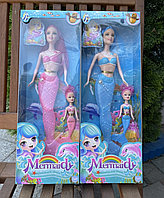 Барби русалка с дочкой