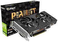 Видеокарта Palit RTX 2060 Dual [NE62060018J9-1160A-1], 6 GB
