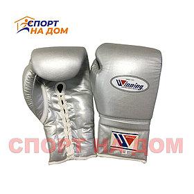 Бокс перчатки Winning (серые) 14 OZ