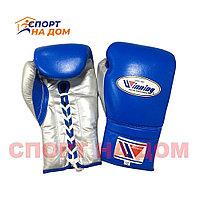 Бокс перчатки Winning (синие) 16 OZ