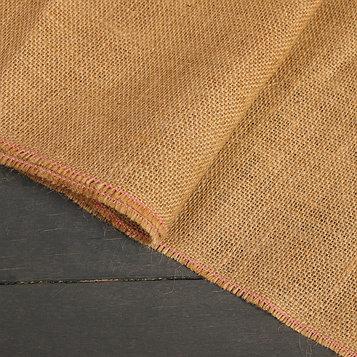 Джут натуральный, 1,06 × 5 м, плотность 360 г/м², плетение 69/44
