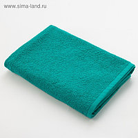 Полотенце махровое «Экономь и Я», размер 70х130 см, цвет светло-зелёный
