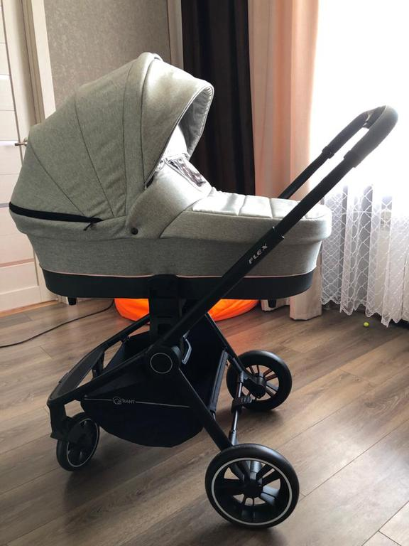 Детская коляска Rant Flex 2 в 1 Light Grey