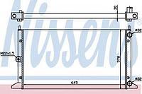 Радиатор, охлаждение двигателя NISSENS VW Sharan 95-10, Ford Galaxy, Seat Alhambra 1,9-2,0