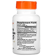 Doctor's Best, коэнзим Q10 с высокой степенью всасывания с BioPerine, 100 мг, 120 капсул, фото 2