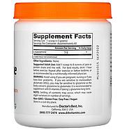 Doctor's Best, чистый L-глютамин в виде порошка, 300 г (10,6 унции), фото 2