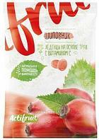Леденец с витамином С со вкусом шиповника 60г (Гуслица)