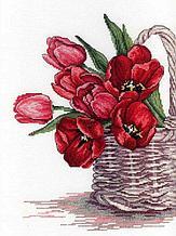 Набор для вышивания крестиком на канве  «Цветы счастья»