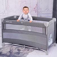 Двухуровневая приставная кровать-манеж Lorelli UP and DOWN