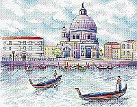 Набор для вышивания крестиком на канве  М-522 «Дух Венеции».