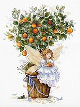 Набор для вышивания крестиком на канве от компании «Апельсиновая фея».