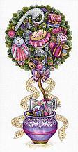Набор для вышивания крестиком на канве  «Швейная сказка».