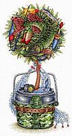 Набор для вышивания крестиком на канве НВ-711 «Удачный улов».