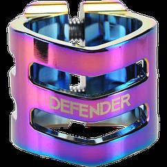Зажим руля для трюкового самоката Defender clamp neochrome