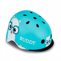 Шлем детский Globber Elite Lights (48-53, sky-blue-buddy)