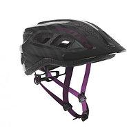 Велошлем Scott Supra Pak-10, black/violet (54-61)