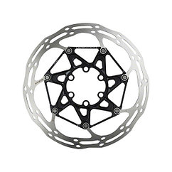 Sram  ротор Centerline 2 Piece 160mm black (includes Ti rotor bolts) Rounded