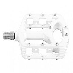 "Педали Exustar BMX-pedal, alloy, 9/16"" axle, white, w/o reflector, OEM"