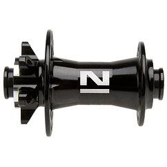 Втулка передняя Novatec  disc 15 mm through hub, 32H/14G, black, w/sealed bearin