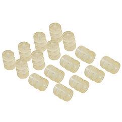 Защита рамы на тросс, MESSINGSCHLAGER 1.2 mm, 1 can = 200 sets a' 3 pcs