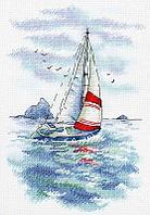 """Набор для вышивания крестиком """"Морская регата"""""""