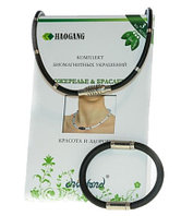 Комплект биомагнитных украшений (ожерелье + браслет)