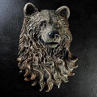 """Подвесной декор """"Голова Медведя"""" 60х40см"""