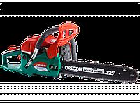 Пила ЗУБР цепная бензиновая, праймер, 49см3, 12500об/мин, шина 450мм, 2.2кВт, хромированный цилиндр