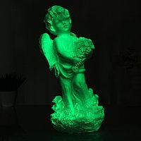 """Светящаяся фигура """"Ангел с цветами"""" большой 17х19х43см"""