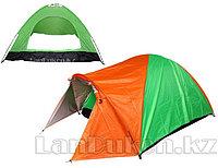 Четырехместная палатка с полом + тент 210*240*150 mm Hanlu HL-2768