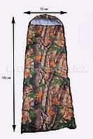 Камуфляжный спальный мешок (под осенний лес) 180х70см с чехлом