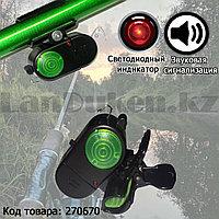 Сигнализатор для поклевки звуковой высокочувствительный на батарейках HBL-02X