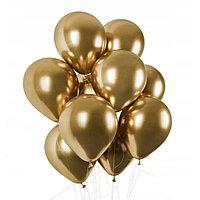 Воздушные шары латексные шар инсайдер 12 дюймов 100 шт/упаковка YuHang золотистые