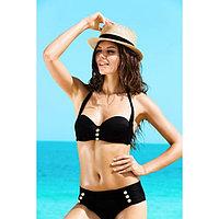 Бюстгальтер купальный женский, размер 70B, цвет чёрный