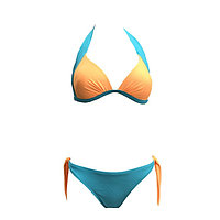 Бюстгальтер купальный женский, размер 75B, цвет небесный