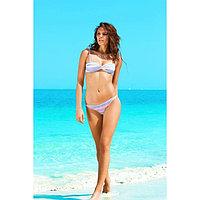 Бюстгальтер купальный женский, размер 70B, цвет голубой