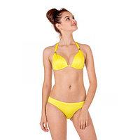 Бюстгальтер купальный женский, размер 75B, цвет жёлтый