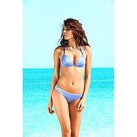 Бюстгальтер купальный женский, размер 75C, цвет лазурный