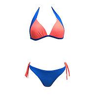 Бюстгальтер купальный женский, размер 70B, цвет синий