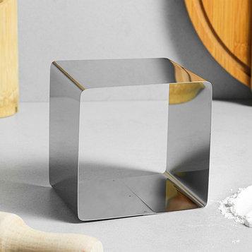 """Форма для выпечки и выкладки """"Квадрат"""", H-8,5 см, 10 х 10"""