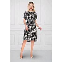Платье «Мартинетти дарк блу», размер 50