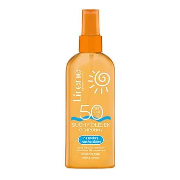 Солнцезащитное масло Lirene SPF50, 150 мл