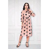 Платье «Эмилия бейж», размер 54