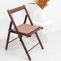 Сидушка на стул блэкаут меланж 34х34х1,5 см