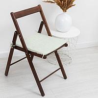 Сидушка на стул «Лист зелёный» 40х40х1,5 см