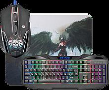 Defender 52018 Игровой набор Reaper MKP-018 RU, мышь+клавиатура+ковер