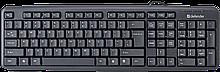 Defender 45527 Проводная клавиатура Element HB-520 HB-520 USB KZ,черный,полноразмерная