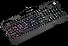 Defender 45193 клавиатура проводная игровая Butcher GK-193DL RU,RGB подсветка, 9 режимов