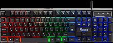 Defender 45210 клавиатура проводная игровая Gorda GK-210L RU,RGB подсветка,19 Anti-Ghost