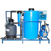 Система очистки воды АРОС-8 ДК (с дозатором хим. реагента и картриджным фильтром)